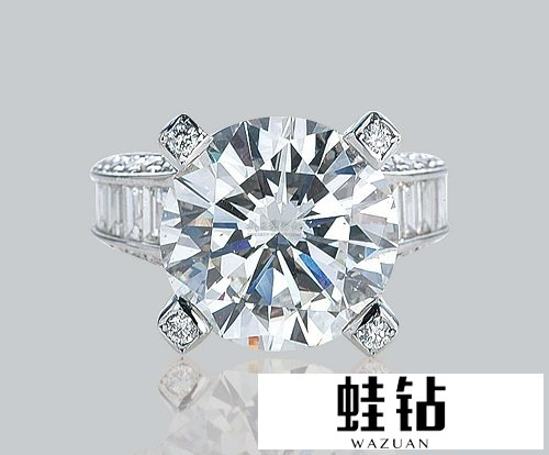 1g拉钻石钻戒